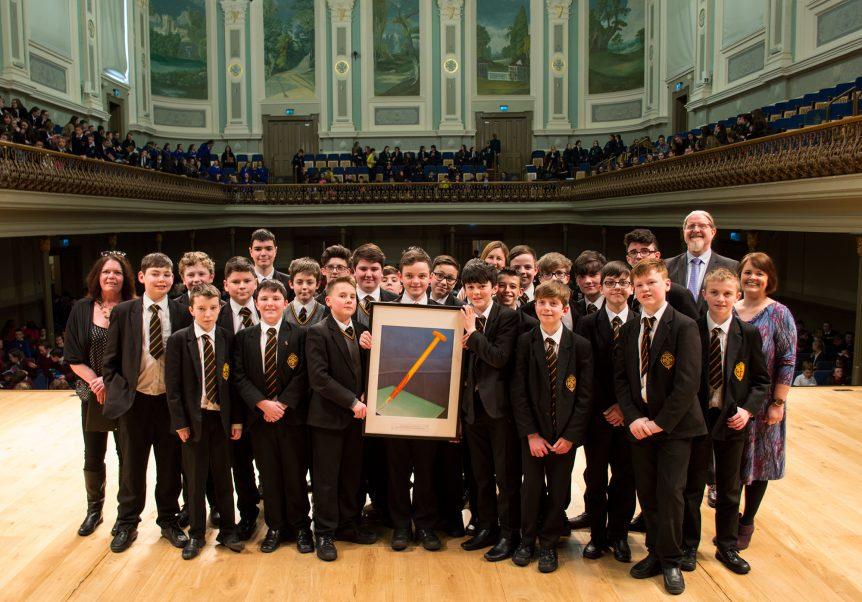 Abbey Grammar School, Newry - Class Donard 9
