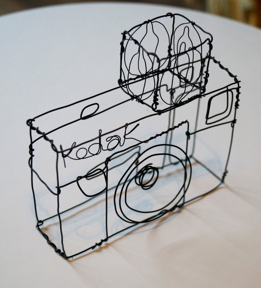 Wire Sculpture 7 Oct