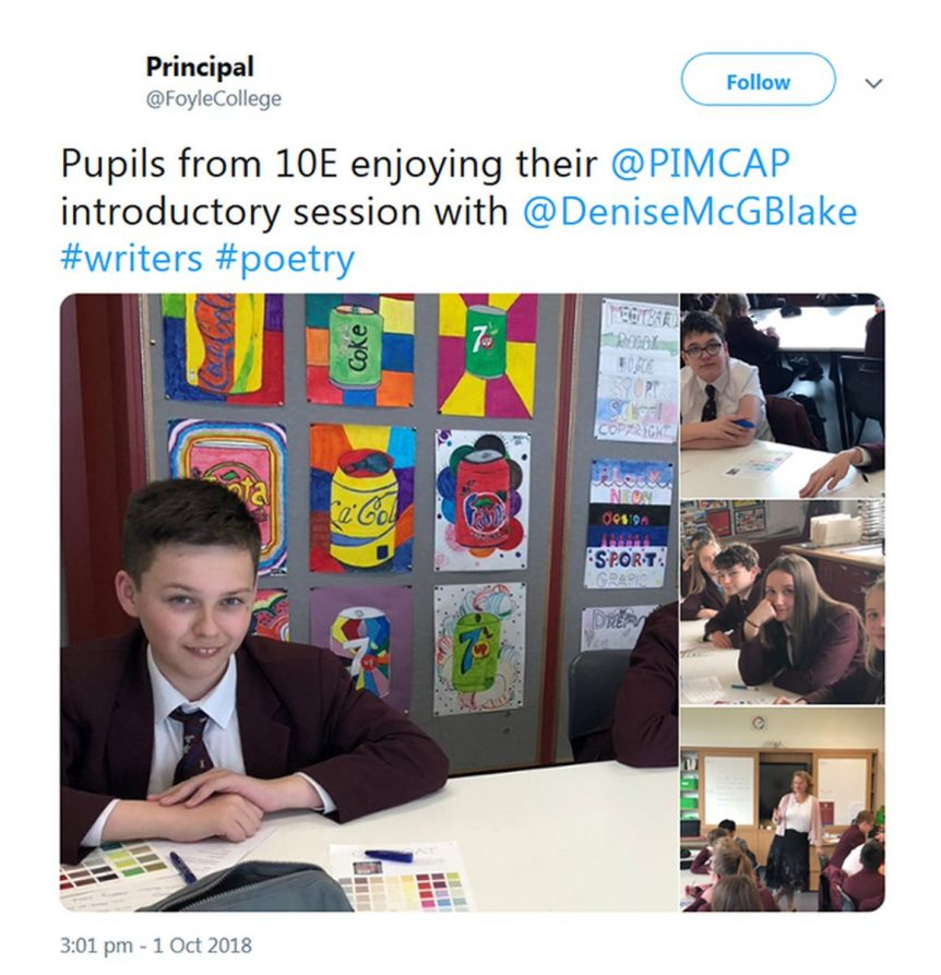 Poetry in Motion Schools - Foyle College