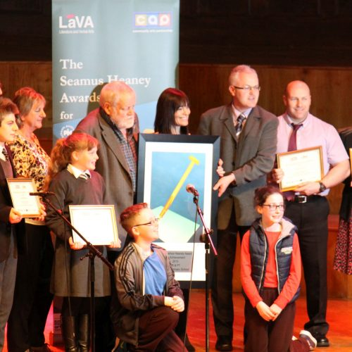Seamus Heaney Awards for Achievment