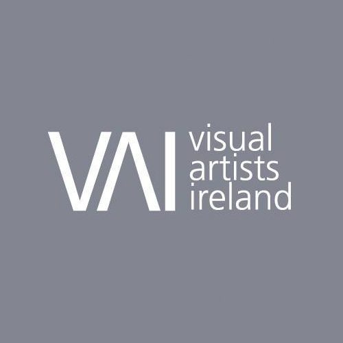 Visual ARts Ieland logo plus