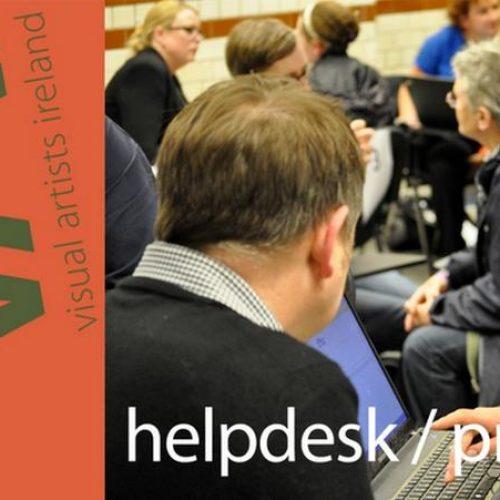Visual Artists Help Desk Online