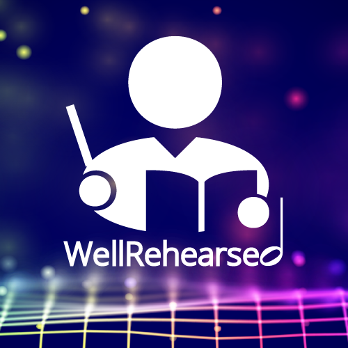 WellRehearsed_Banner with logo