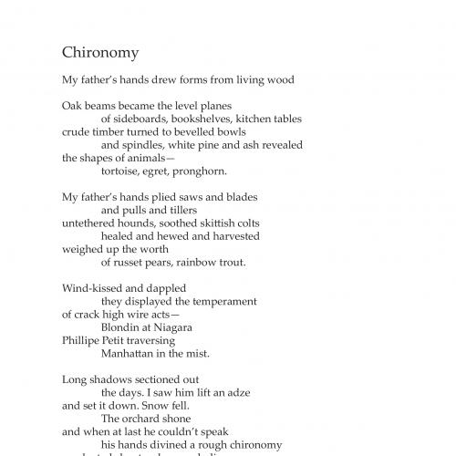 chironomy