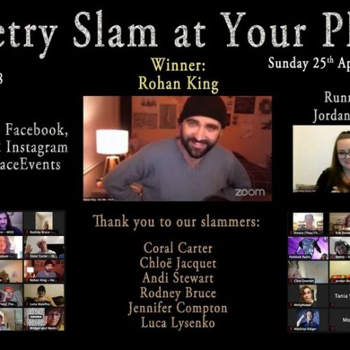 poetry slam at your place ft